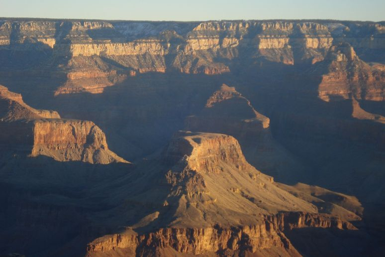 frontal grand canyon